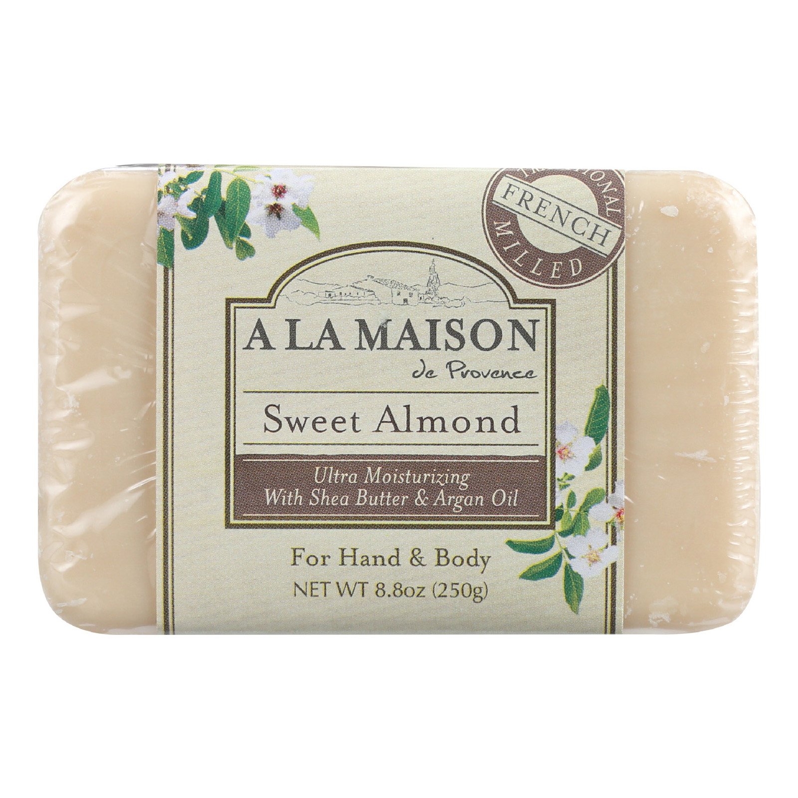 A la maison bar soap sweet almond 8 8 oz hope and hope for A la maison soap