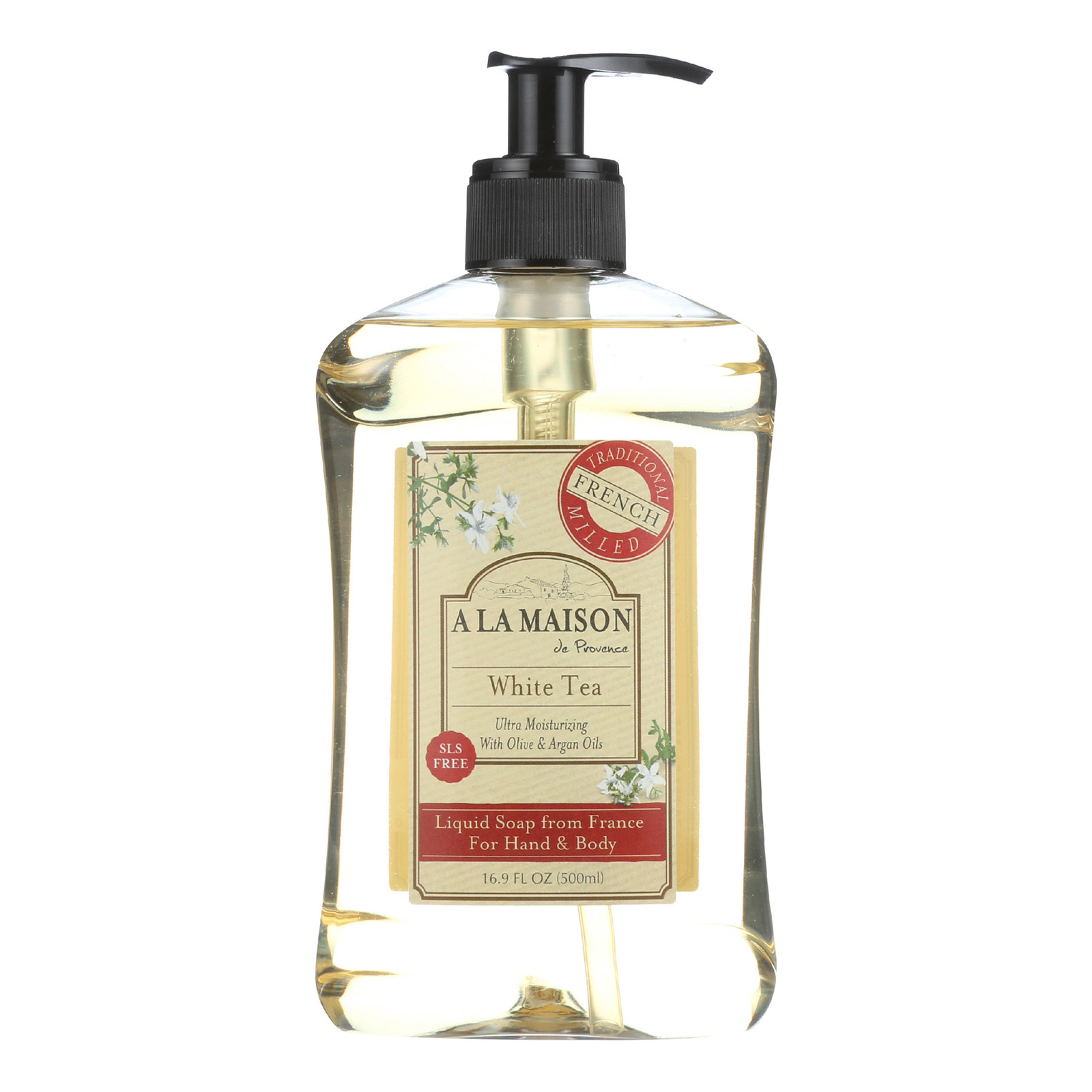 A la maison french liquid soap white tea 16 9 fl oz for A la maison french liquid soap