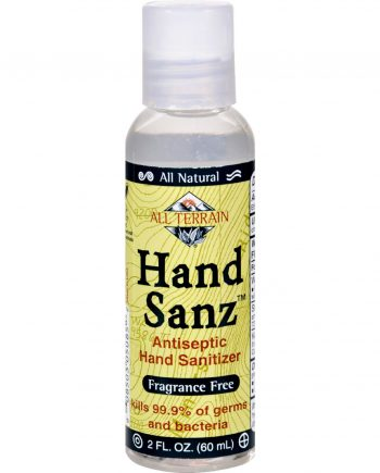 All Terrain Antiseptic Hand Sanitizer - Fragrance Free - 2 oz