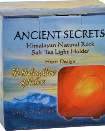 Ancient Secrets Himalayan Salt Tea Light Heart - Pack