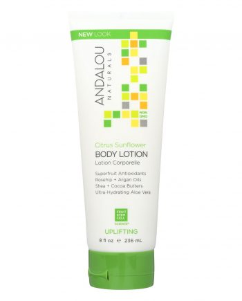 Andalou Naturals Body Lotion - Citrus Verbena Uplifting - 8 fl oz