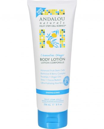 Andalou Naturals Body Lotion - Clementine Ginger Energizing - 8 fl oz