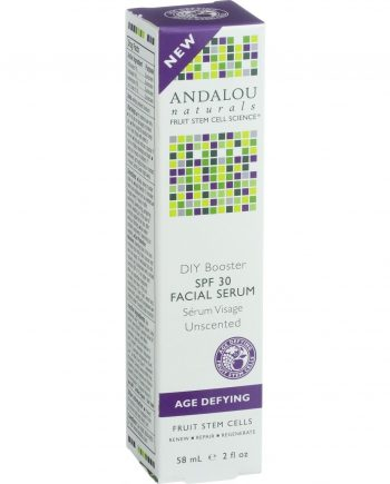 Andalou Naturals Facial Serum - DIY Booster SPF 30 - 2 oz
