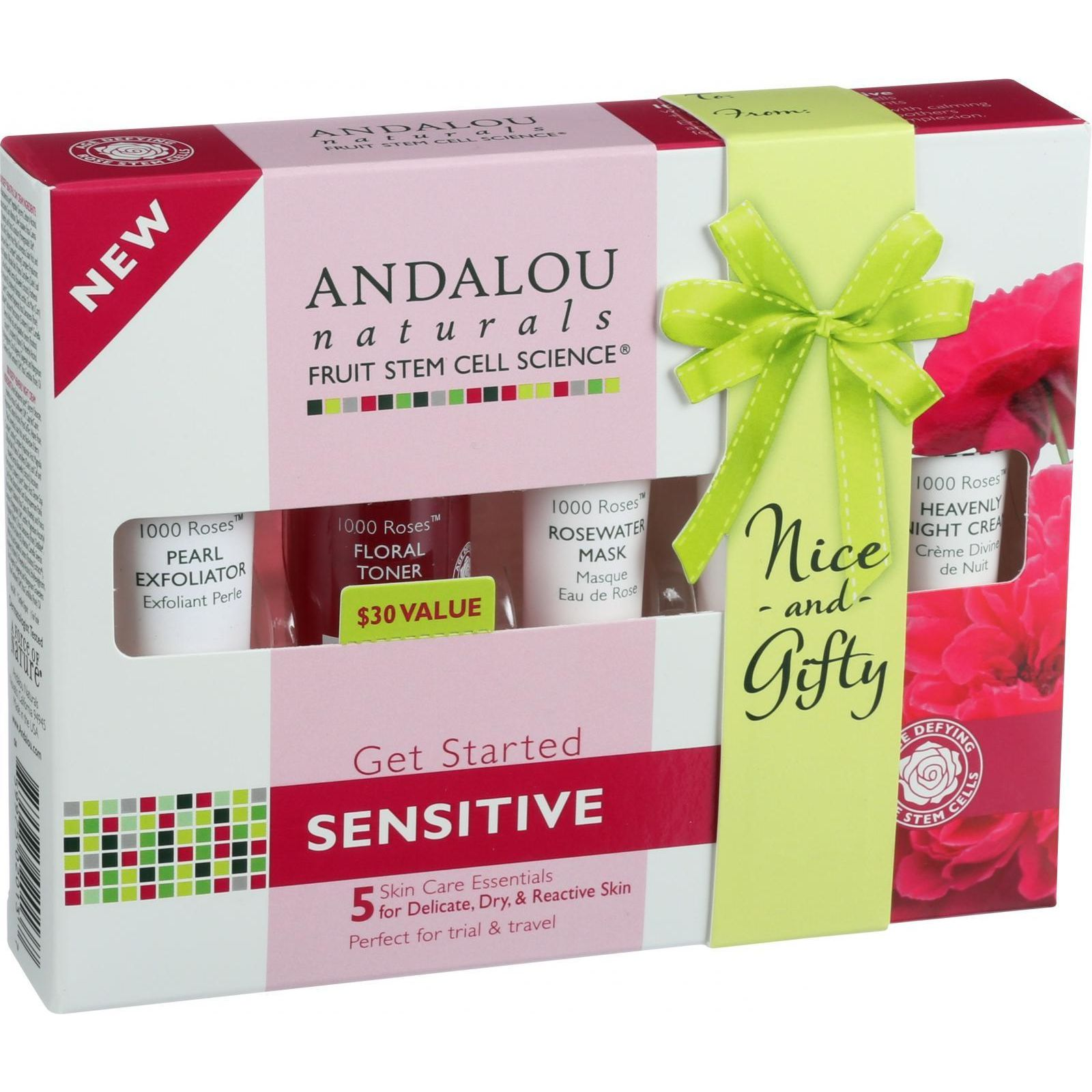 Andalou Naturals Fruit Stem Cell Science  Roses
