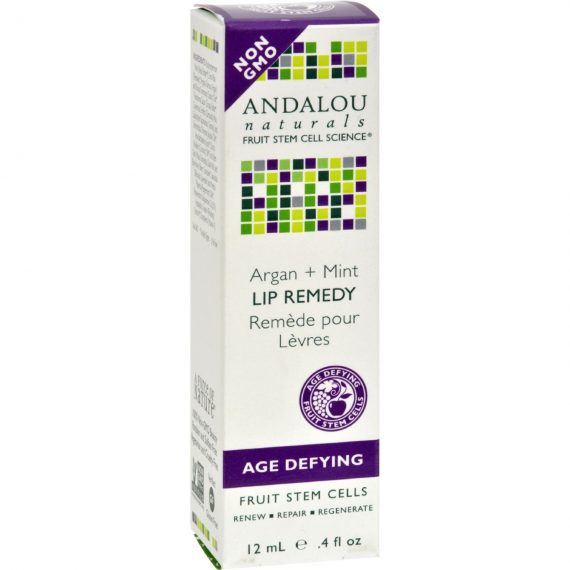 Andalou Naturals Lip Remedy Argan + Mint – .4 oz