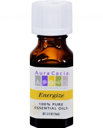 Aura Cacia Pure Essential Oil Energize - 0.5 fl oz