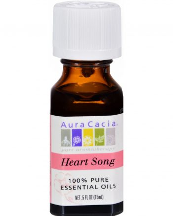 Aura Cacia Pure Essential Oil Heart Song - 0.5 fl oz