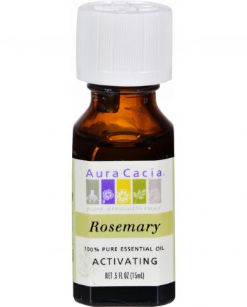 Aura Cacia Pure Essential Oil Rosemary - 0.5 fl oz