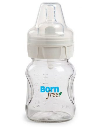 Bornfree Natural Feeding Glass Bottle - Slow Flow - 5 oz