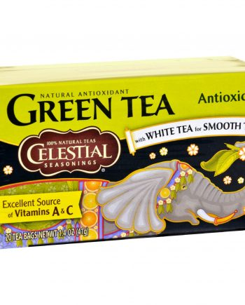 Celestial Seasonings Green Tea - 20 Tea Bags - Case of 6