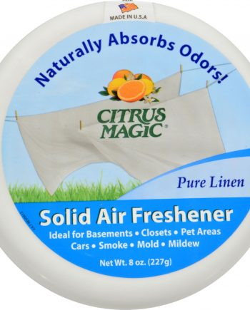 Citrus Magic Air Freshener - Odor Absorbing - Solid - Pure Linen - 8 oz