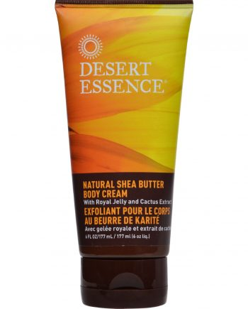 Desert Essence Natural Shea Butter Body Cream - 6 fl oz