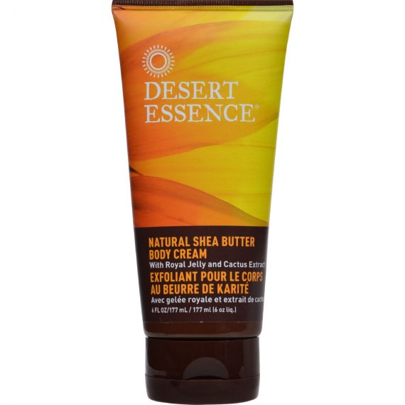 Desert Essence Natural Shea Butter Body Cream – 6 fl oz