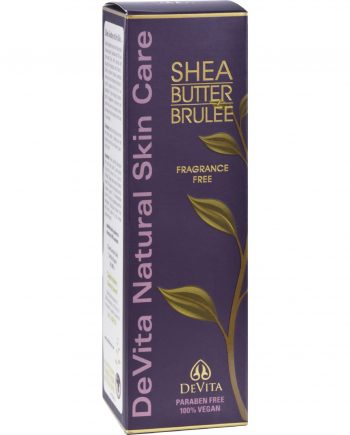 Devita Natural Skin Care Shea Butter Hand/Body Brulee - Unscented - 7 oz