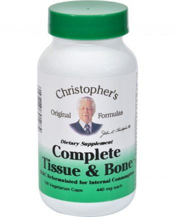 Dr. Christopher's Complete Tissue and Bone - 440 mg - 100 Vegetarian Capsules