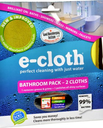 E-Cloth Bathroom Pack - 2 Pack
