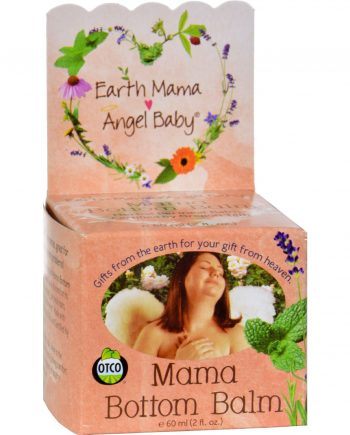 Earth Mama Angel Baby Earth Mama Bottom Balm - 2 oz