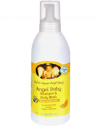 Earth Mama Angel Baby Shampoo and Body Wash - 34 fl oz