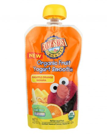 Earth's Best Baby Foods Organic Fruit Yogurt Smoothie - Pineapple