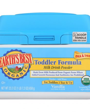 Earth's Best Organic Vanilla Toddler Formula - Case of 4 - 23.2 oz.