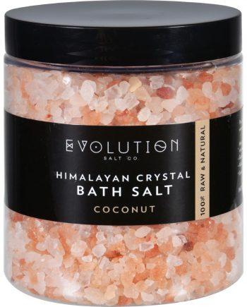 Evolution Salt Bath Salt - Himalayan - Coarse - Coconut - 26 oz