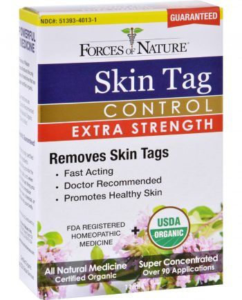 Forces of Nature Skin Tag Control - Certified Organic - Extra Strength - 11 ml