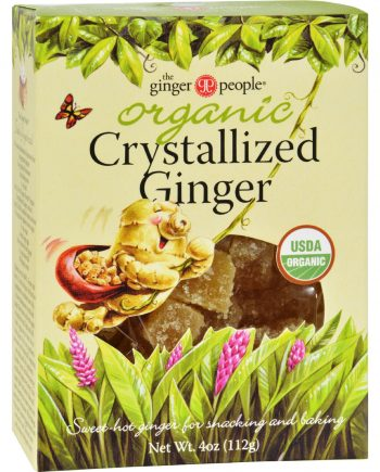 Ginger People Organic Crystallized Ginger Box - 4 oz - Case of 12
