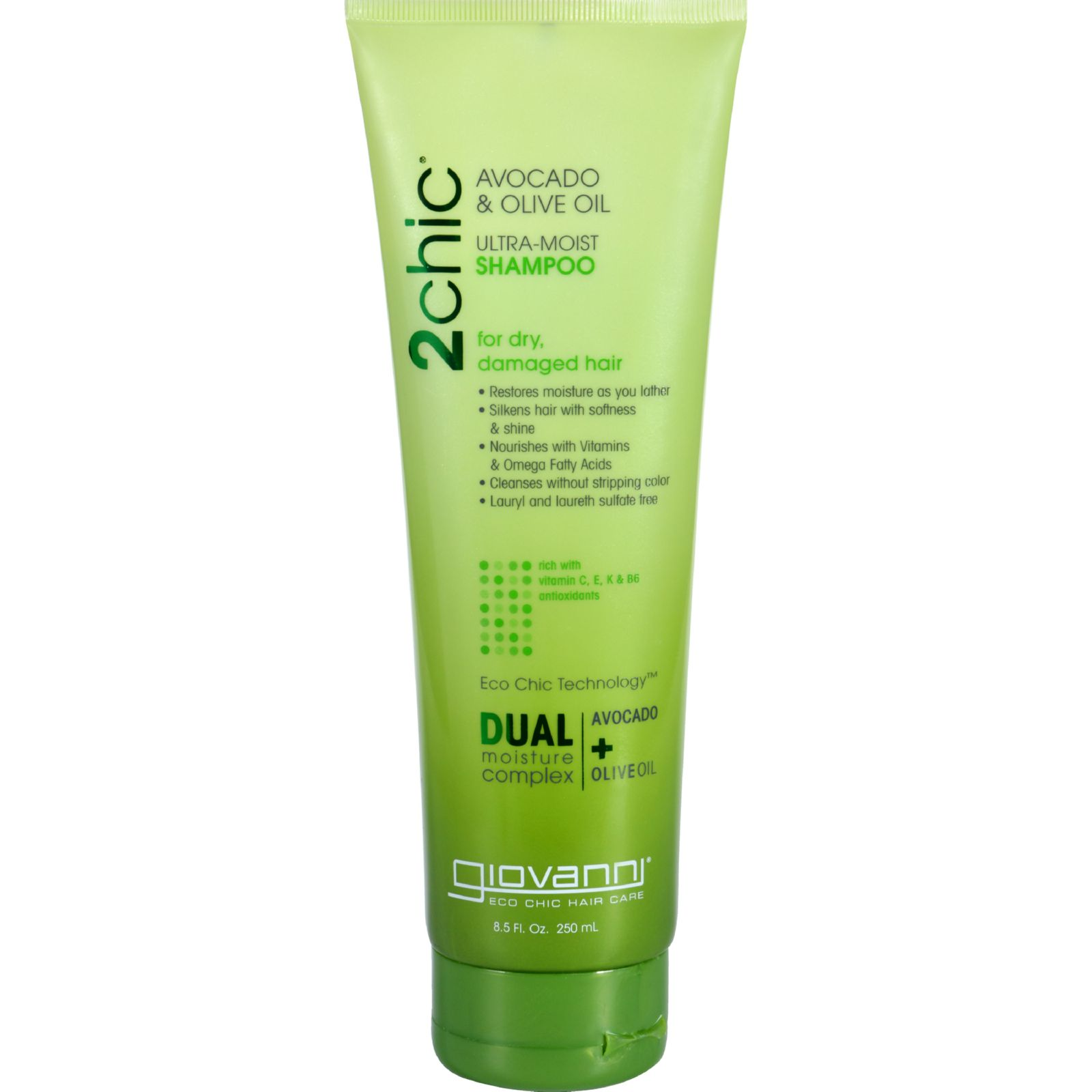 Giovanni Hair Care Products Shampoo  2Chic Avocado and Olive Oil  8.5 oz  HOPE and HOPE