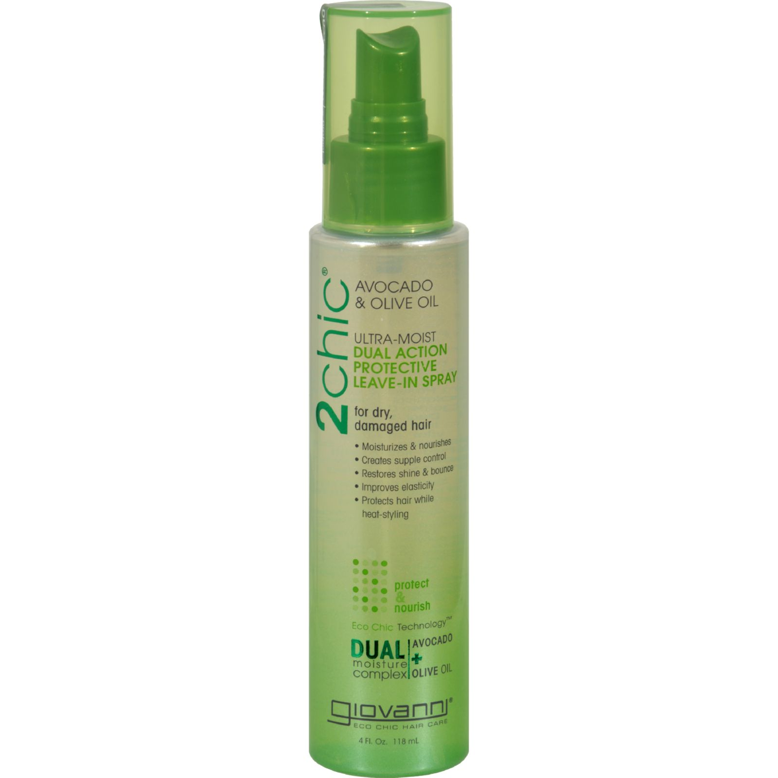 Giovanni Hair Care Products Spray Leave In Conditioner  2Chic Avocado  4 oz