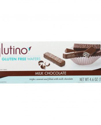 Glutino Chocolate Covered Wafer - Case of 12 - 4.6 oz.