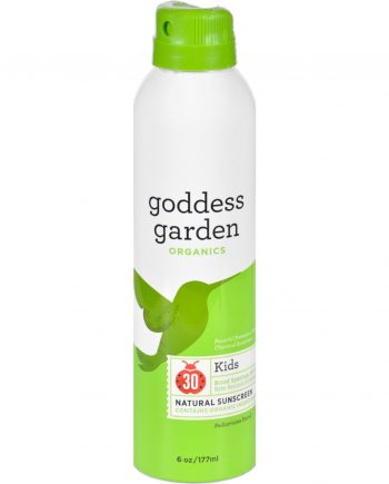 Goddess Garden Organic Sunscreen - Sunny Kids Natural SPF 30 Continuous Spray - 6 oz