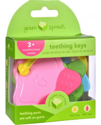 Green Sprouts Teething Keys - Unisex - 3 Months Plus - 1 Count