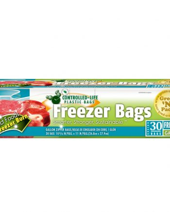 Green-n-Pack Zipper Freezer Bags - Gallon - 30 Pack