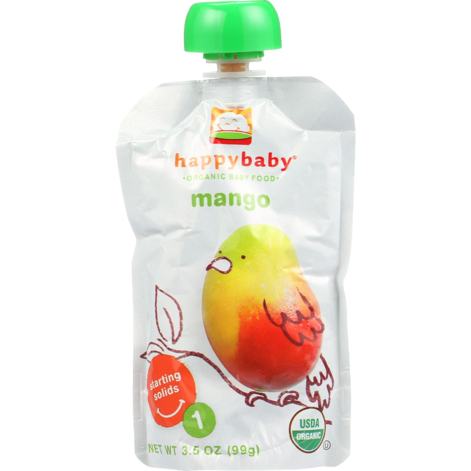 Happy Baby Baby Food Organic Starting Solids Stage 1