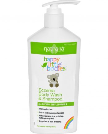 Happy Little Bodies Eczema Body Wash and Shampoo - Natralia - 6 oz