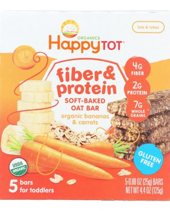 Happy Tot Happy Tot Fiber and Protein - Apple