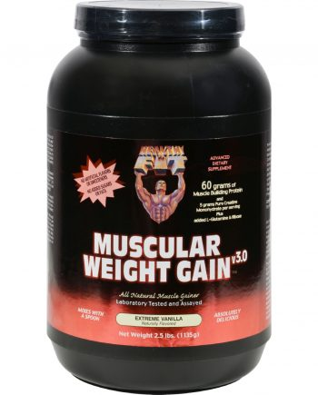Healthy 'N Fit Muscular Weight Gain 2 - Vanilla - 2.5 Lb.