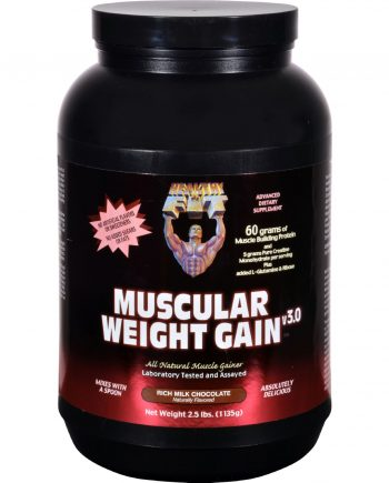Healthy 'N Fit Muscular Weight Gain 3 - Chocolate - 2.5 lbs