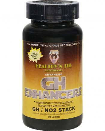 Healthy 'N Fit Nutritionals GH Enhancers GH NO2 - 90 Capsules