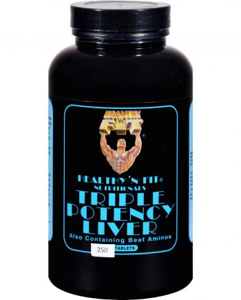 Healthy 'N Fit Triple Potency Liver - 250 tablets