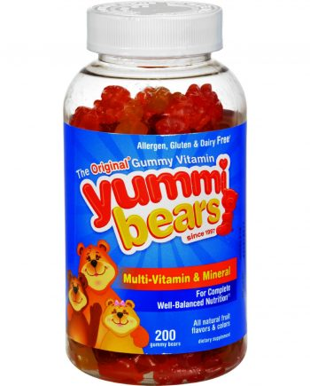 Hero Nutritionals Yummi Bears Gummy Vitamins for Children - 200 Gummies