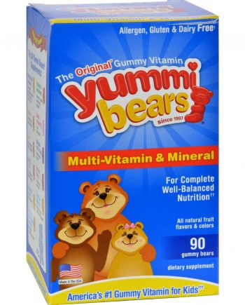 Hero Nutritionals Yummi Bears Multi-Vitamin and Mineral Fruit - 90 Gummies