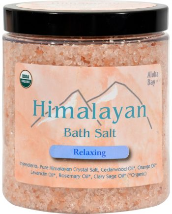 Himalayan Salt Bath Salt - Relaxing - 24 oz