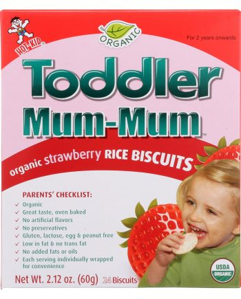 Hot Kid Toddler Mum - Strawberry - Case of 6 - 2.12 oz.