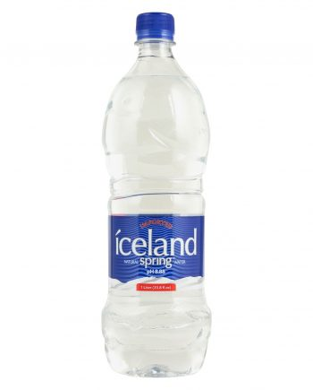 Iceland Springs Spring Water - Case of 12 - 33.8 Fl oz.