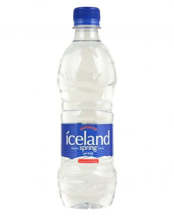 Iceland Springs Spring Water - Case of 24 - 16.9 Fl oz.