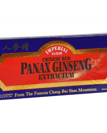 Imperial Elixir Chinese Red Panax Ginseng Extractum - 10 bottles - 10 ml each