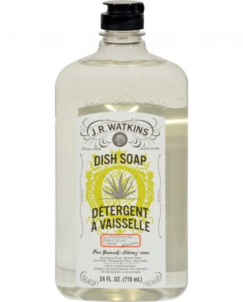 J.R. Watkins Liquid Dish Soap Aloe And Green Tea - 24 fl oz