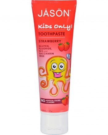 Jason Kids Only Toothpaste Strawberry - 4.2 oz