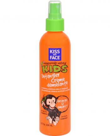 Kiss My Face Kids Detangler Creme Orange U Smart - 8 fl oz